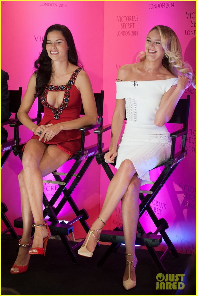 adriana lima candice swanepoel announce victorias secret fashion show 21