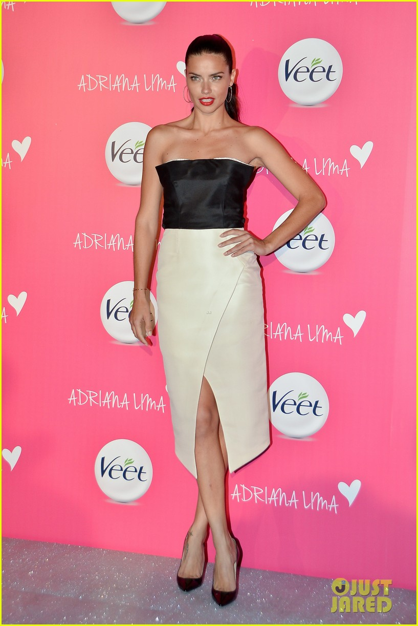 adriana lima drop dead gorgeous at veet launch 073086069