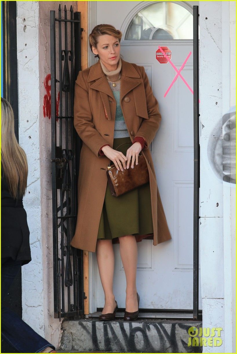 blake lively back at work on age of adaline after injury 013101401