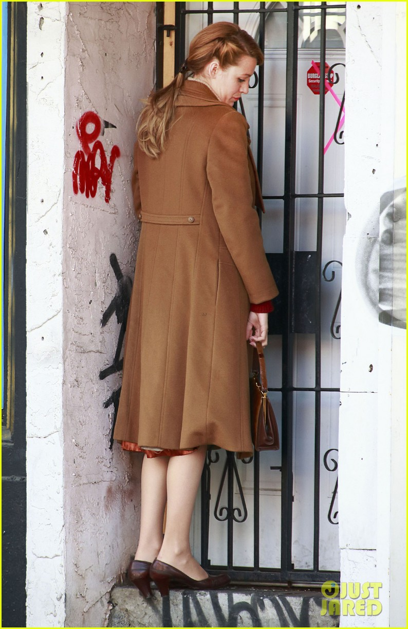 blake lively back at work on age of adaline after injury 053101405