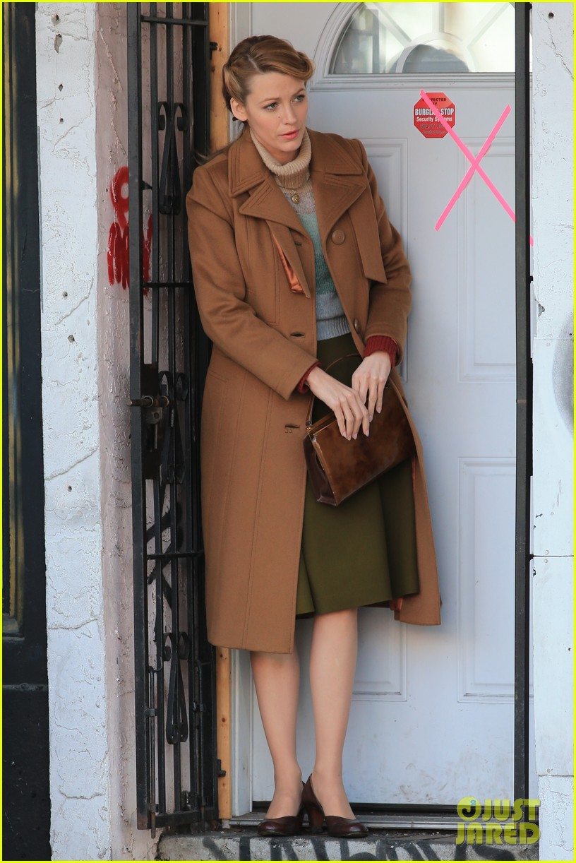 blake lively back at work on age of adaline after injury 063101406