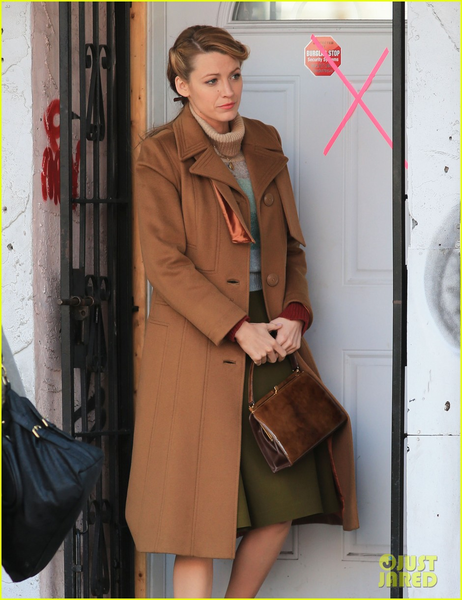 blake lively back at work on age of adaline after injury 073101407