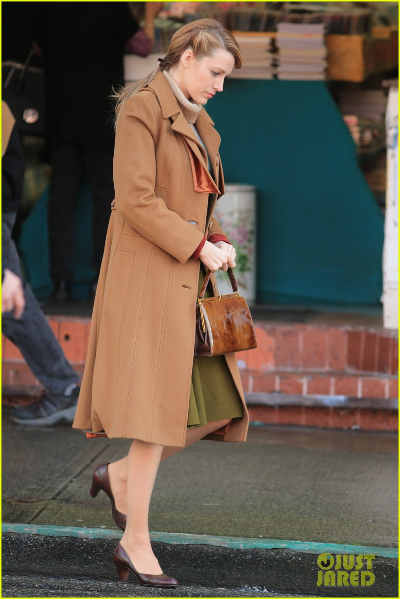 blake lively back at work on age of adaline after injury 083101408
