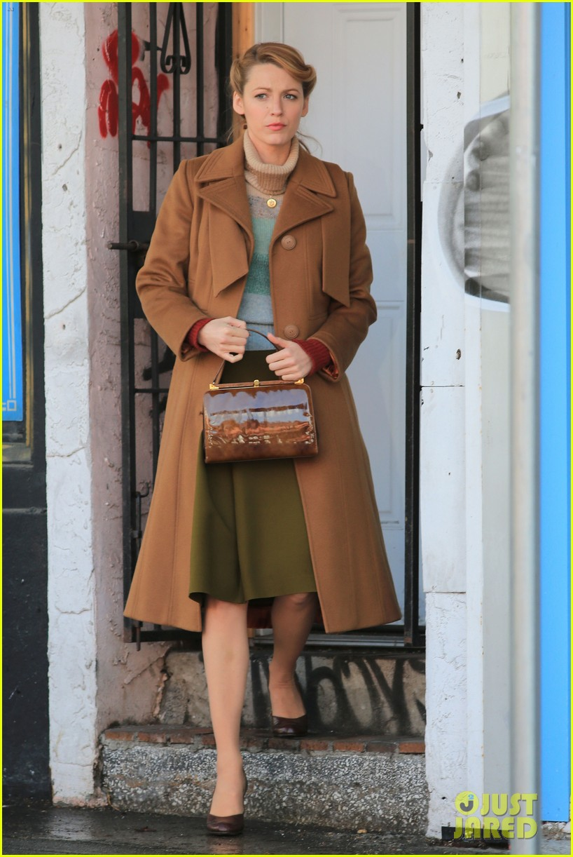 blake lively back at work on age of adaline after injury 093101409