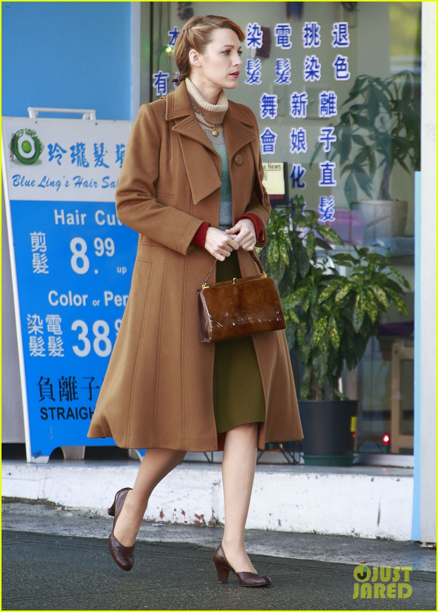 blake lively back at work on age of adaline after injury 113101411