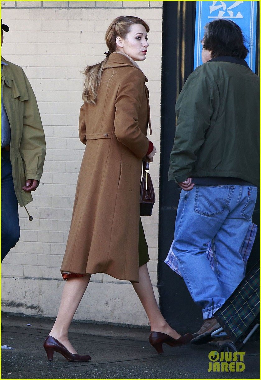 blake lively back at work on age of adaline after injury 133101413