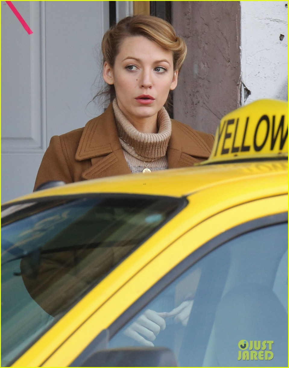 blake lively back at work on age of adaline after injury 203101420