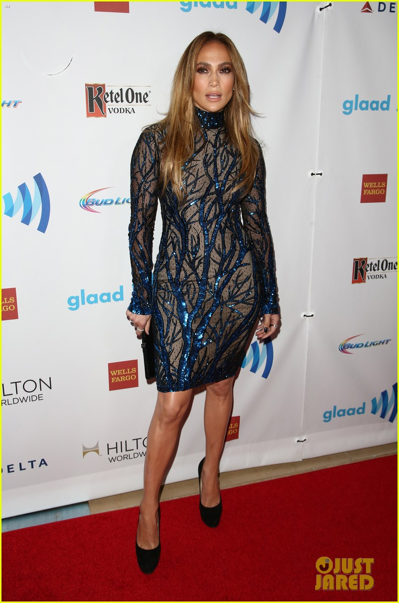 jennifer lopez glaad vanguard award boyfriend casper smart 233090051