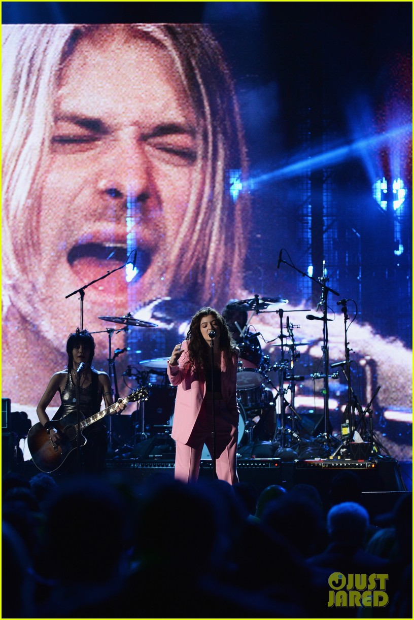 lorde nirvana rock roll hall of fame 063088979