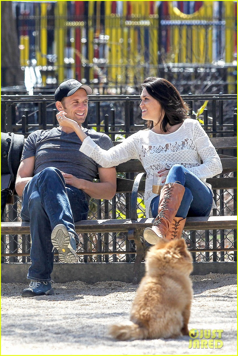josh lucas jessica ciencin henriquez look very lovey dovey after divorce announcement 073084586