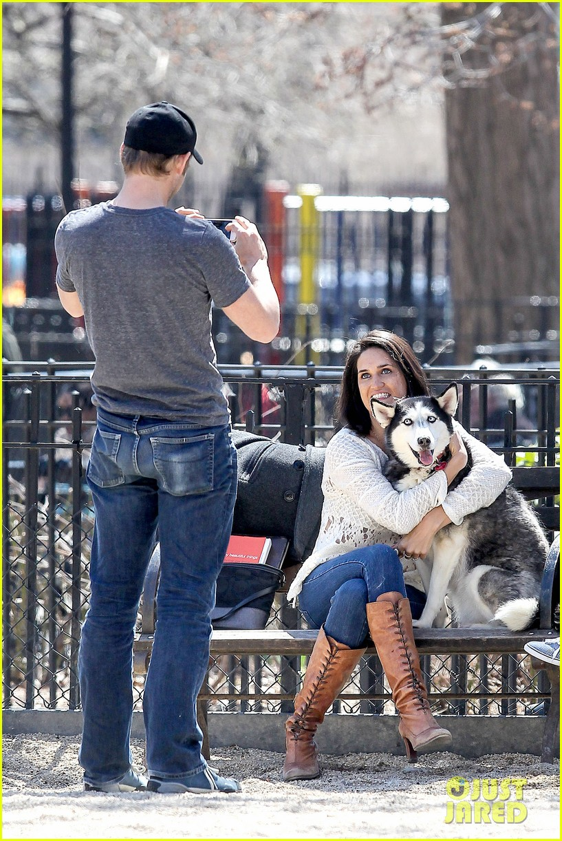 josh lucas jessica ciencin henriquez look very lovey dovey after divorce announcement 123084591