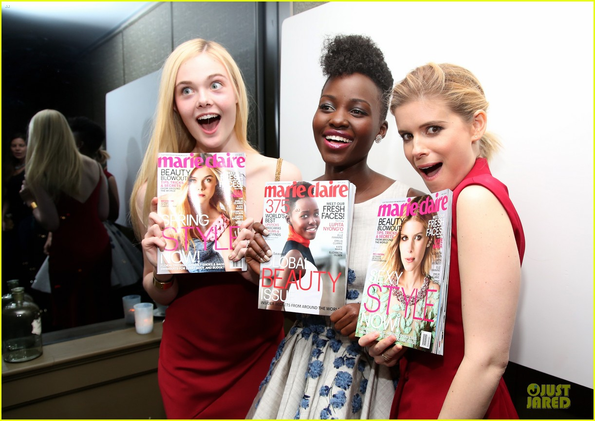 lupita nyongo kate mara celebrate marie claire covers 023087261