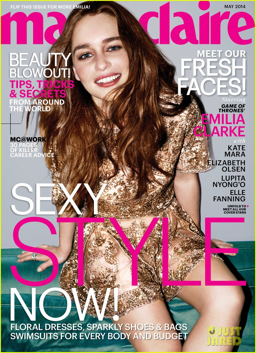 lupita nyongo emilia clarke get their own marie claire covers 013087471