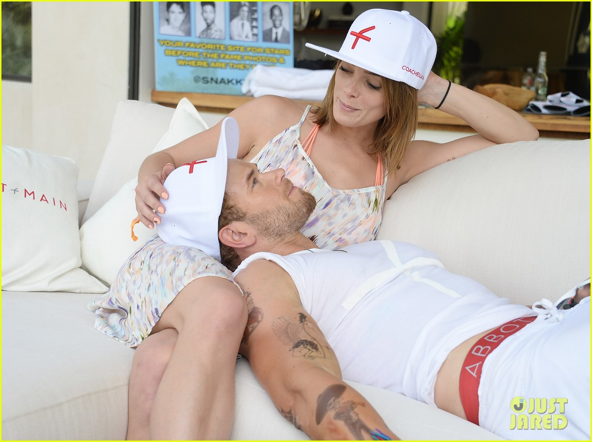 kellan lutz ashley greene show off beach bodies coachella pool party 093090165