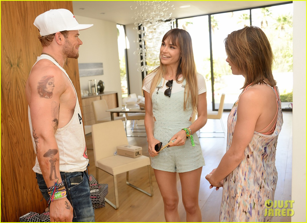 kellan lutz ashley greene show off beach bodies coachella pool party 323090188
