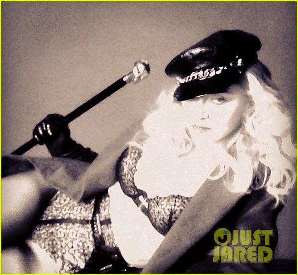 madonna sang in her underwear noone seemed to mind 023097455