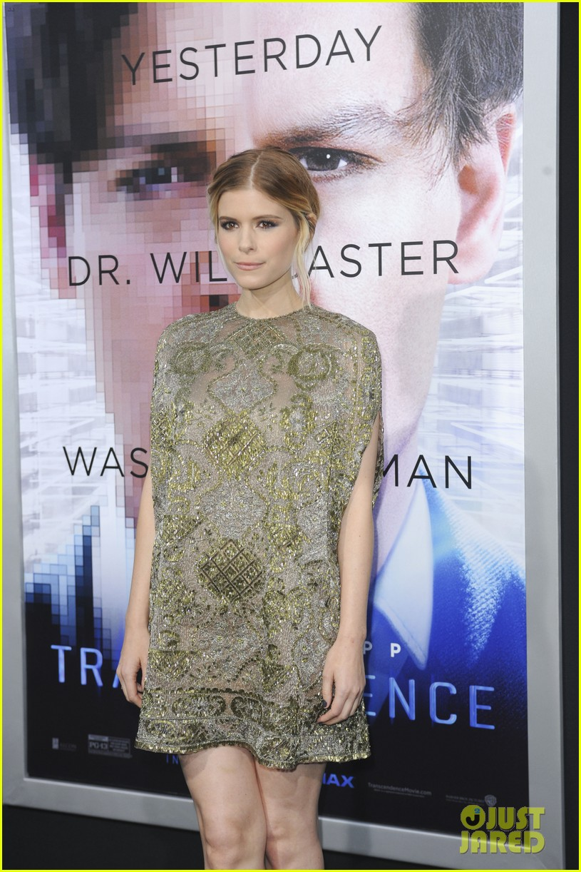 kate mara paul bettany transcendence premiere 133088877