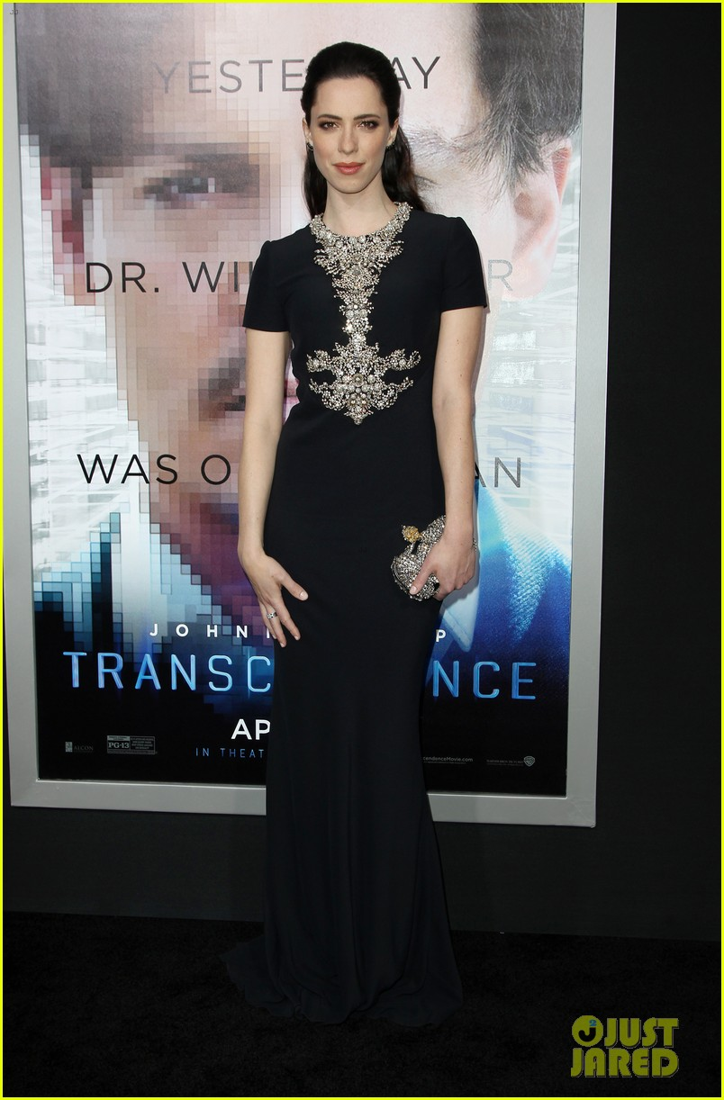 kate mara paul bettany transcendence premiere 153088879