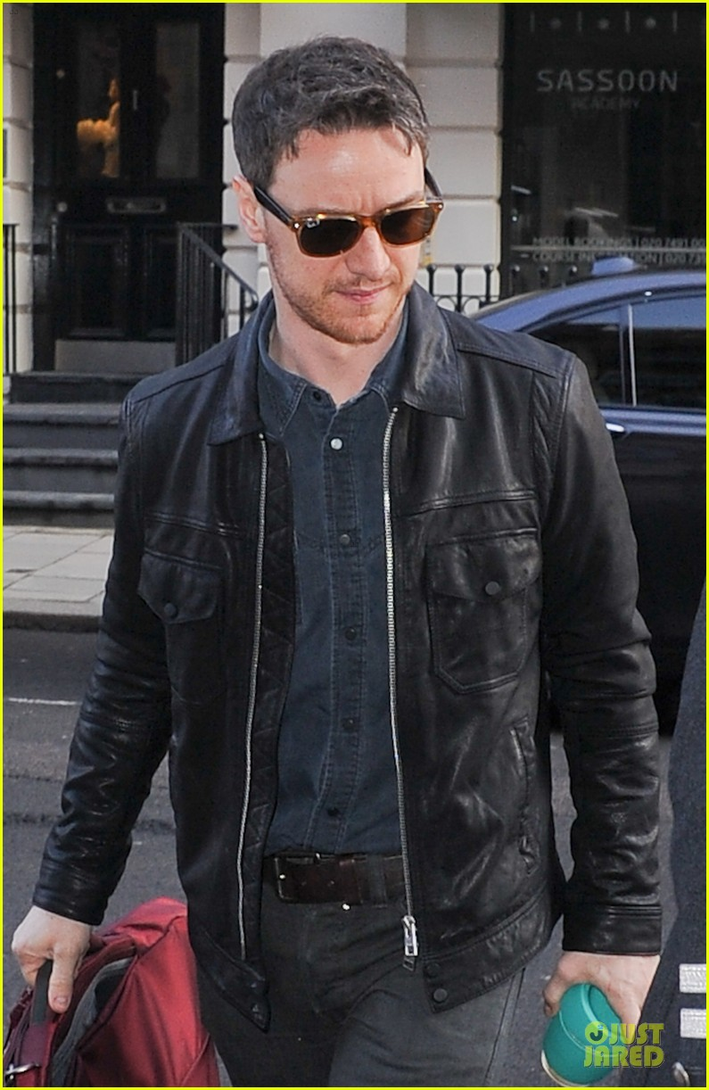 james mcavoy serious swagger in leather 023083144