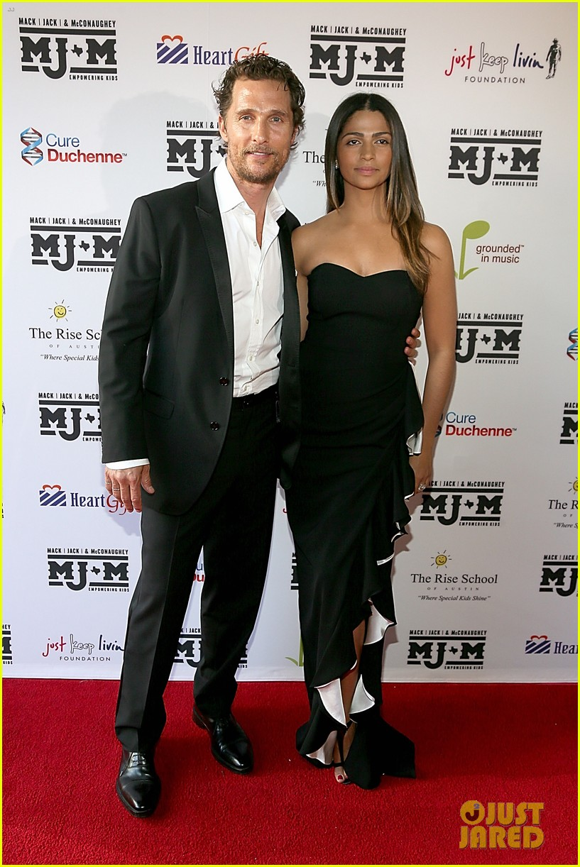 matthew mcconaughey brings the whole family to the mack jack mcconaughey gala 013098974