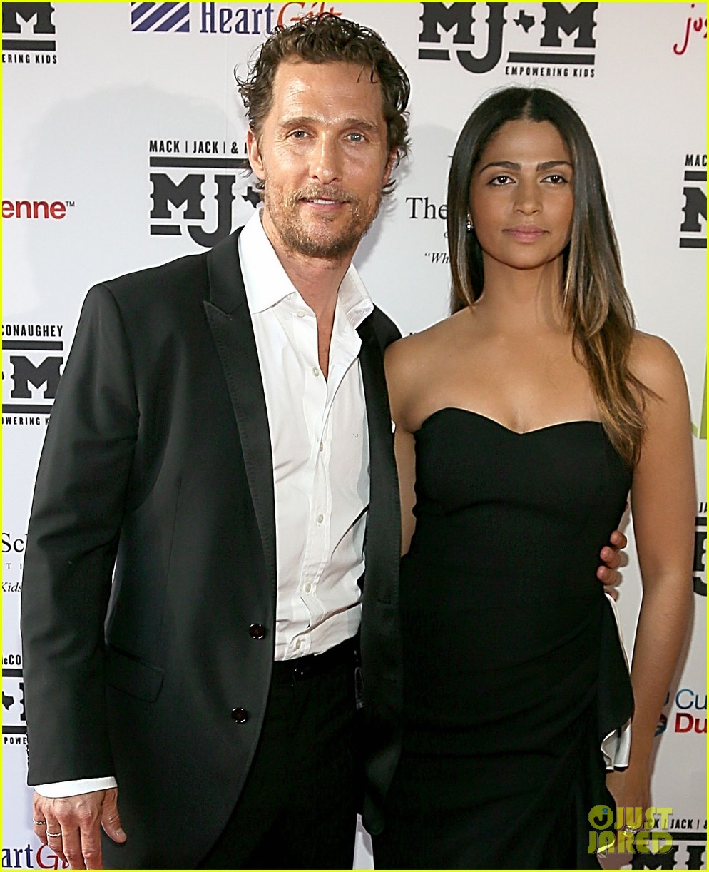 matthew mcconaughey brings the whole family to the mack jack mcconaughey gala 033098976