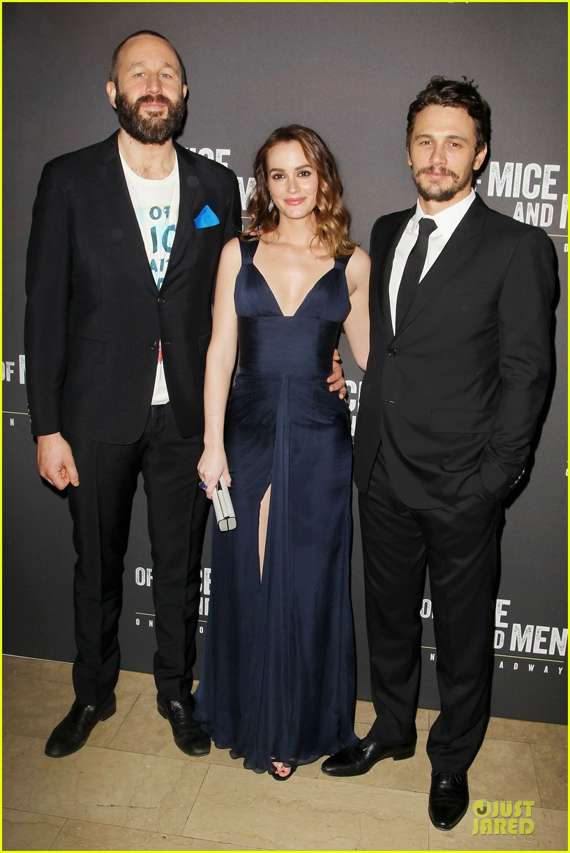 leighton meester james franco of mice men after party 01