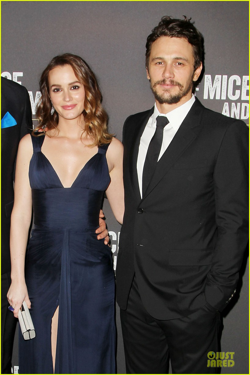 leighton meester james franco of mice men after party 063093617