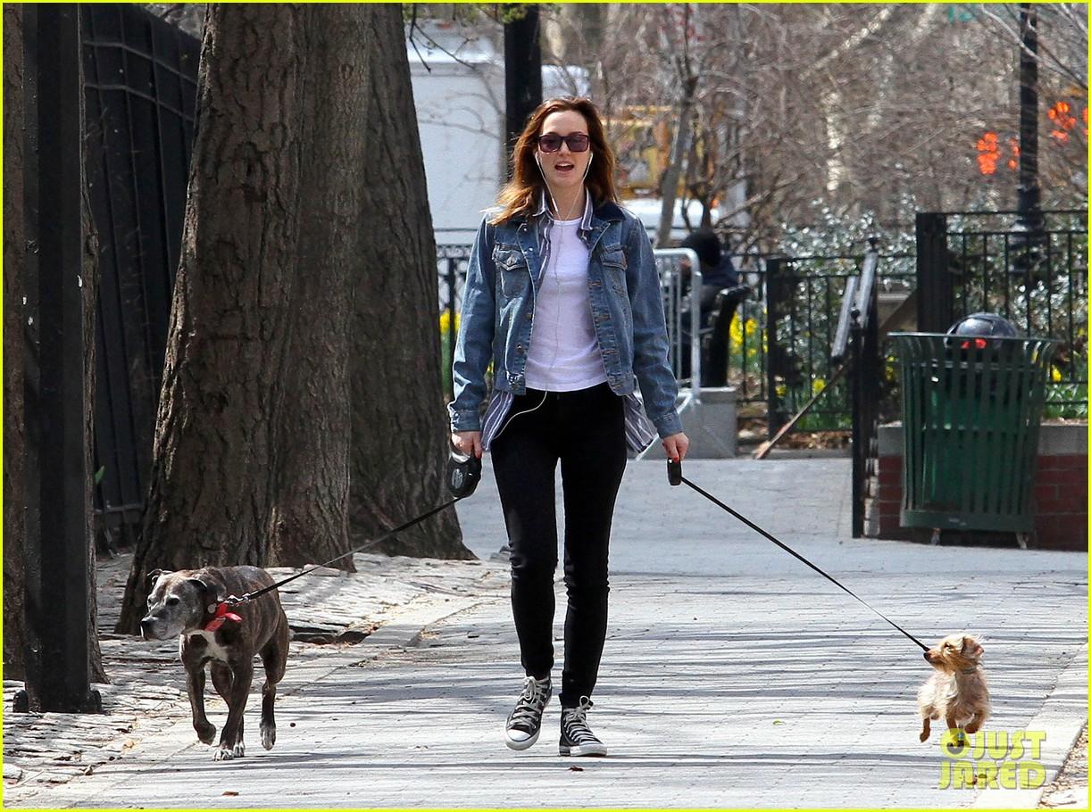 leighton meester birthday dog walk 023088150