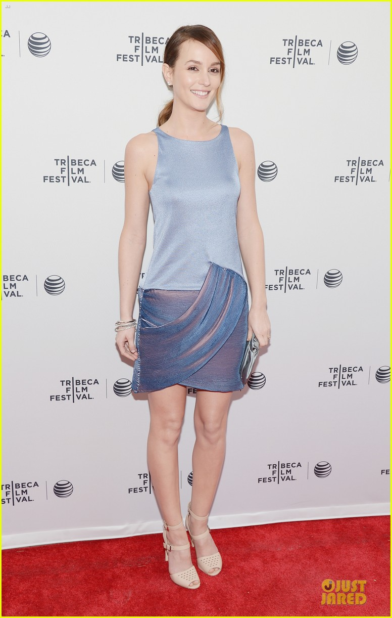 leighton meester life partners at tribeca premiere 063094781