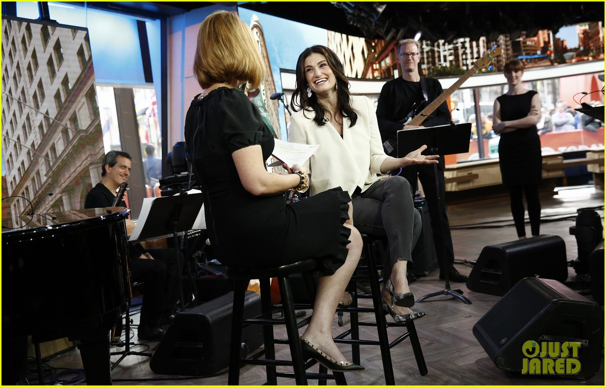 idina menzel today show if then 023084053