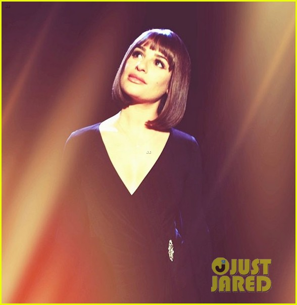 lea michele performs funny girl on stage 013088883