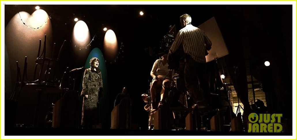 lea michele performs funny girl on stage 173088899