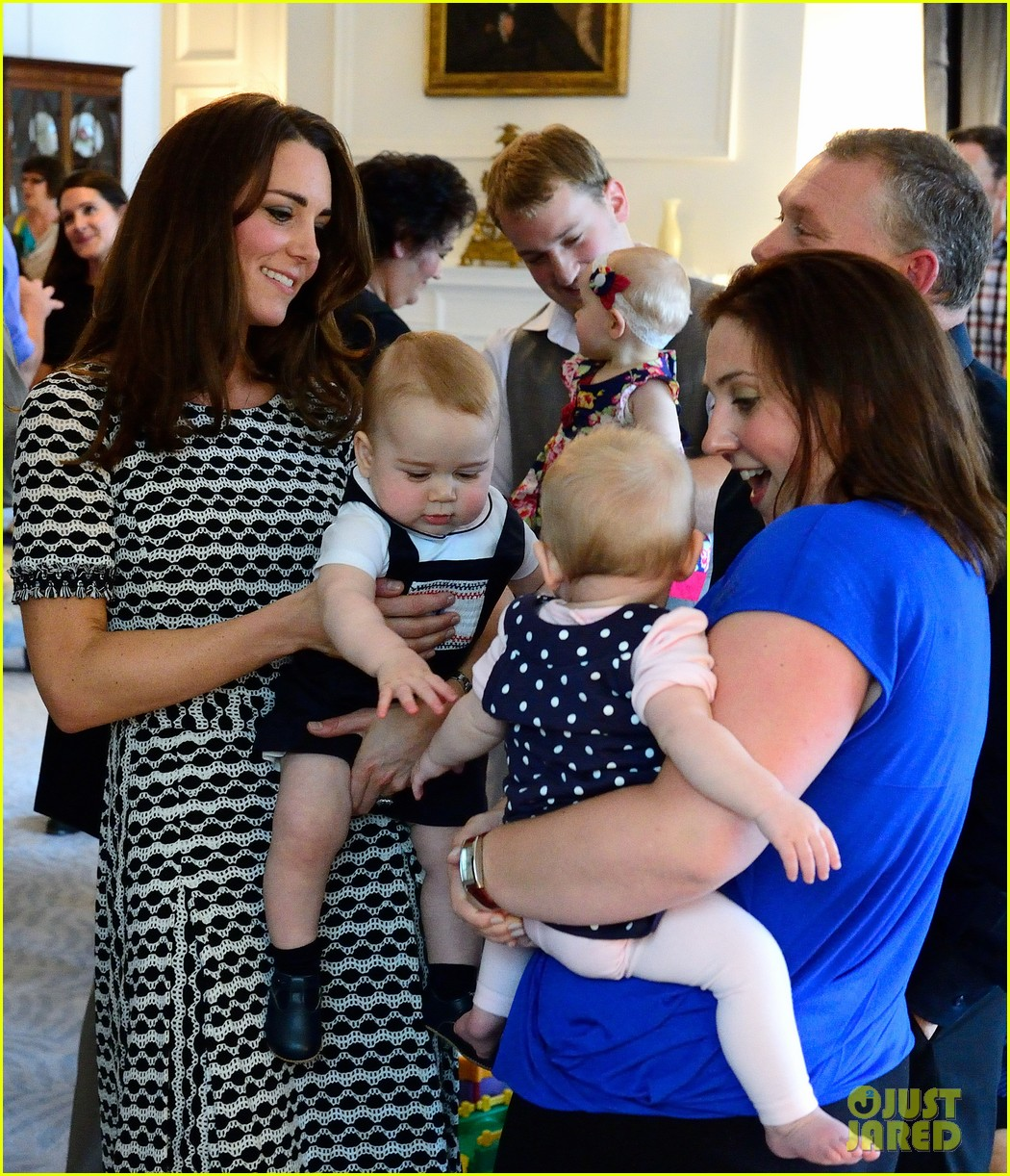 Kate Middleton & Prince George Enjoy Play Date With Other