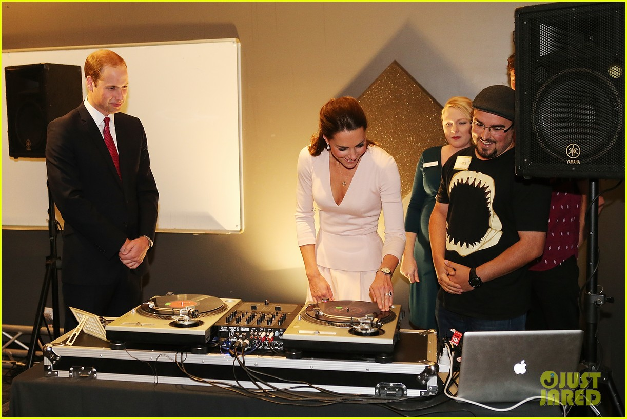 Whitesides Of Cambridge >> Kate Middleton & Prince William Hit the DJ Booth, Can They Get Any Cooler?!: Photo 3097204 ...