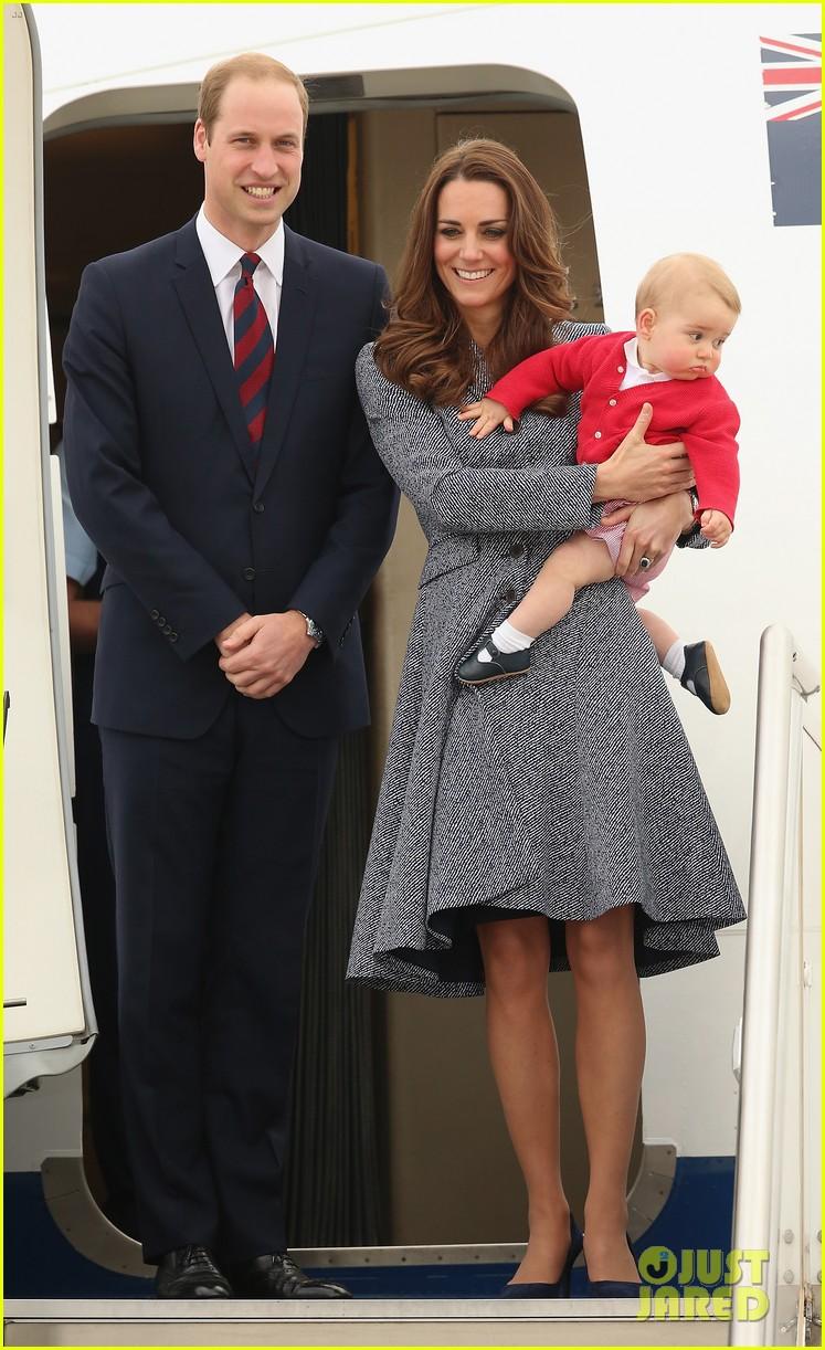 kate middleton prince william prince george say goodbye to australia 013098847