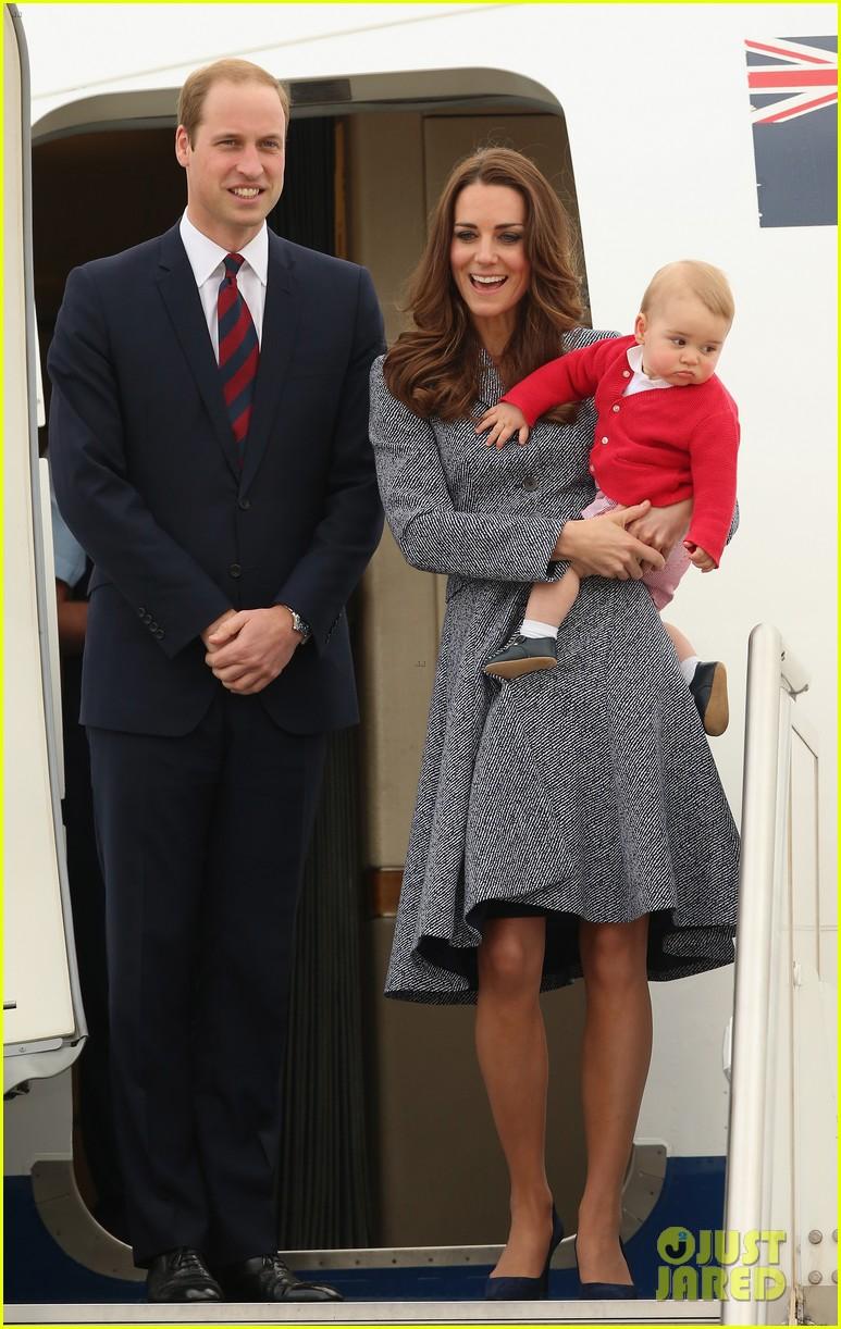 kate middleton prince william prince george say goodbye to australia 053098851