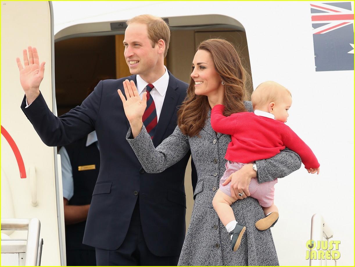 kate middleton prince william prince george say goodbye to australia 113098857