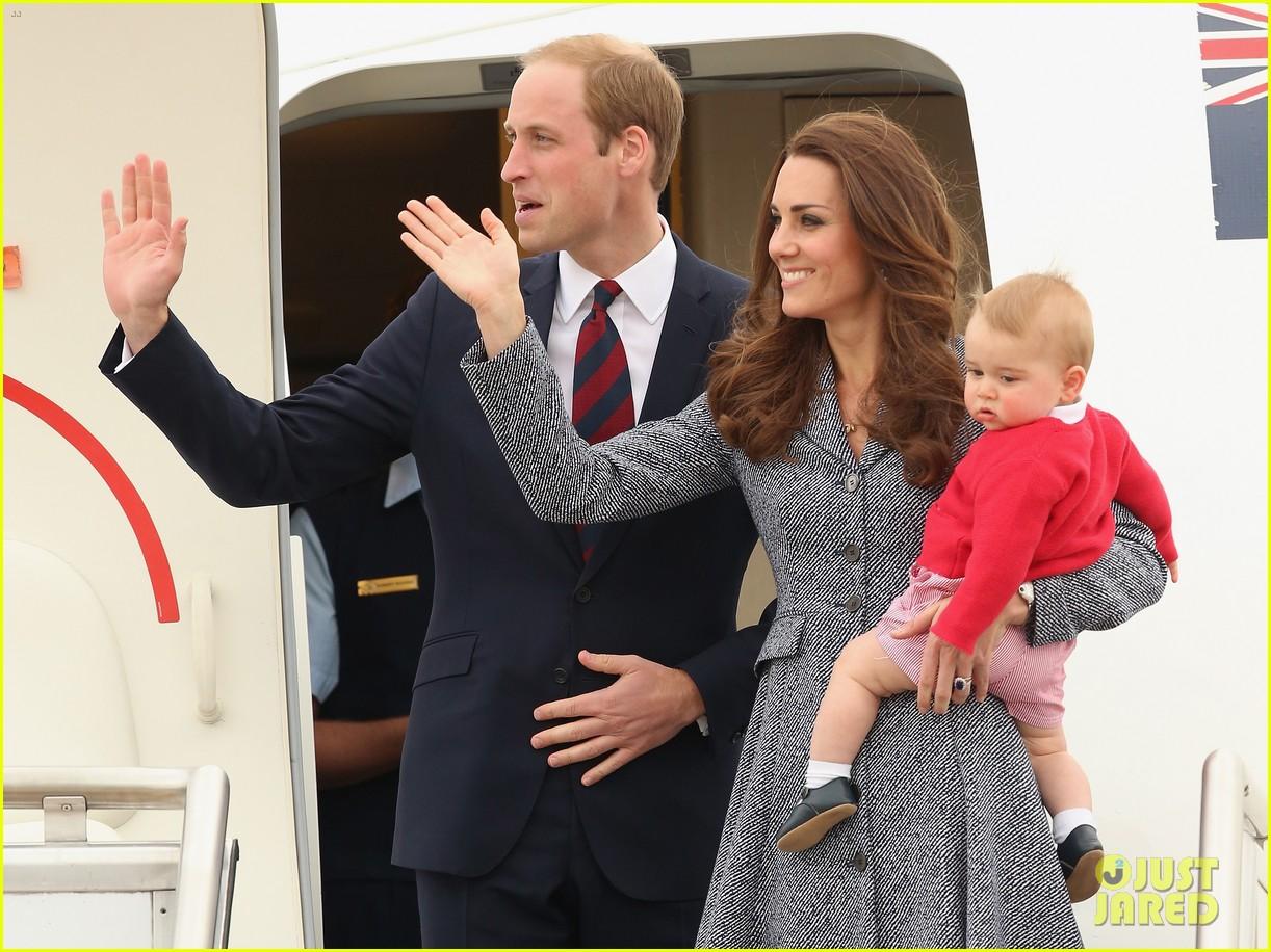 kate middleton prince william prince george say goodbye to australia 123098858