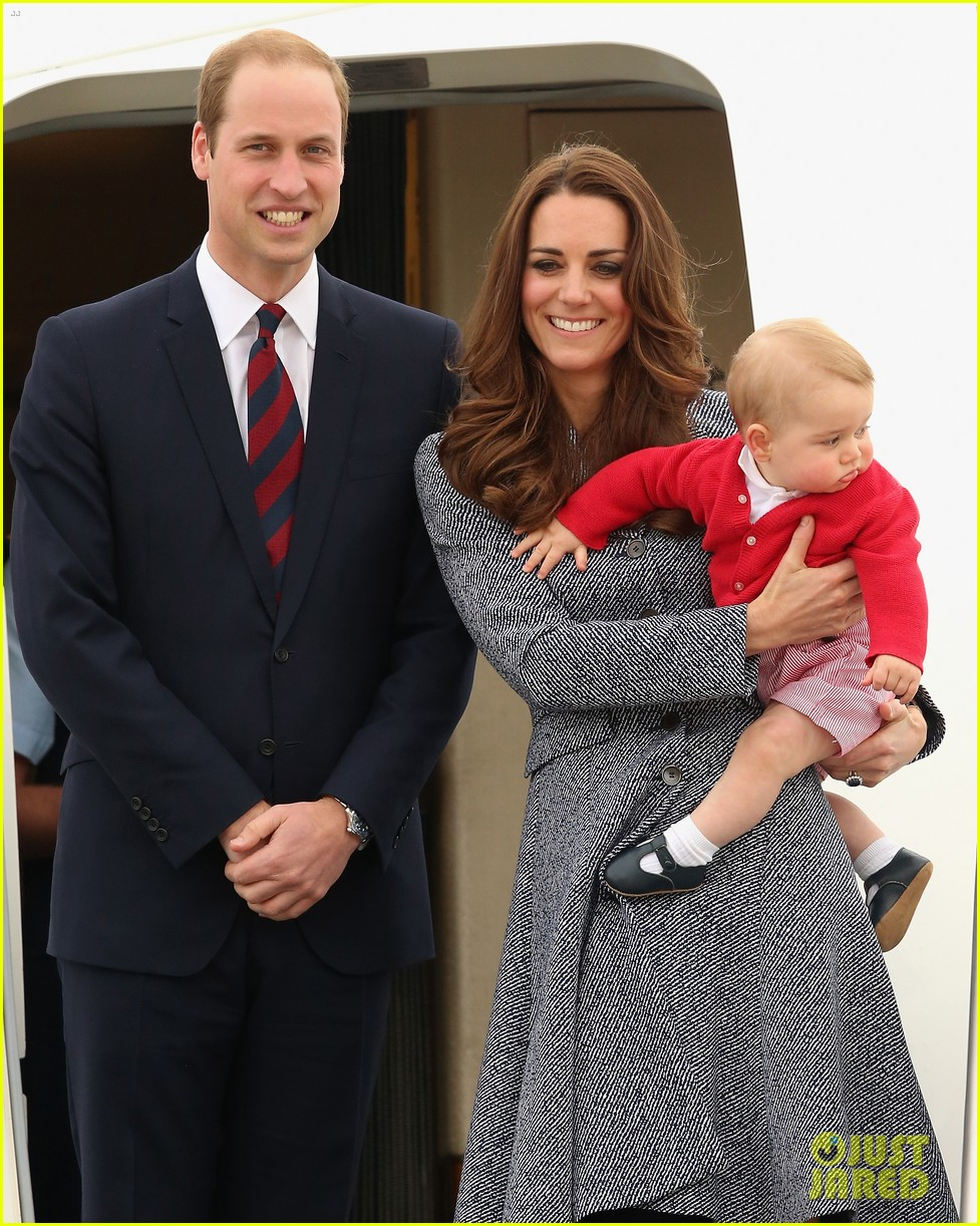kate middleton prince william prince george say goodbye to australia 303098876