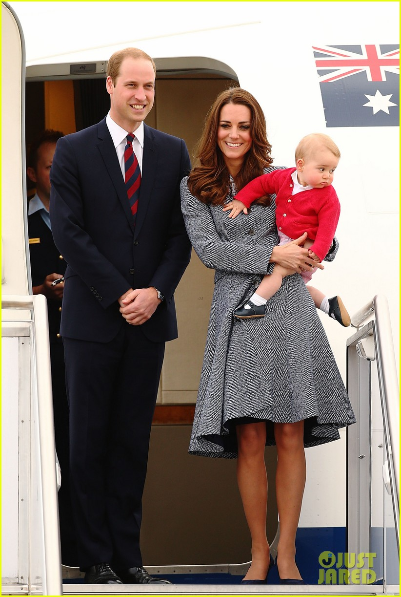 kate middleton prince william prince george say goodbye to australia 31
