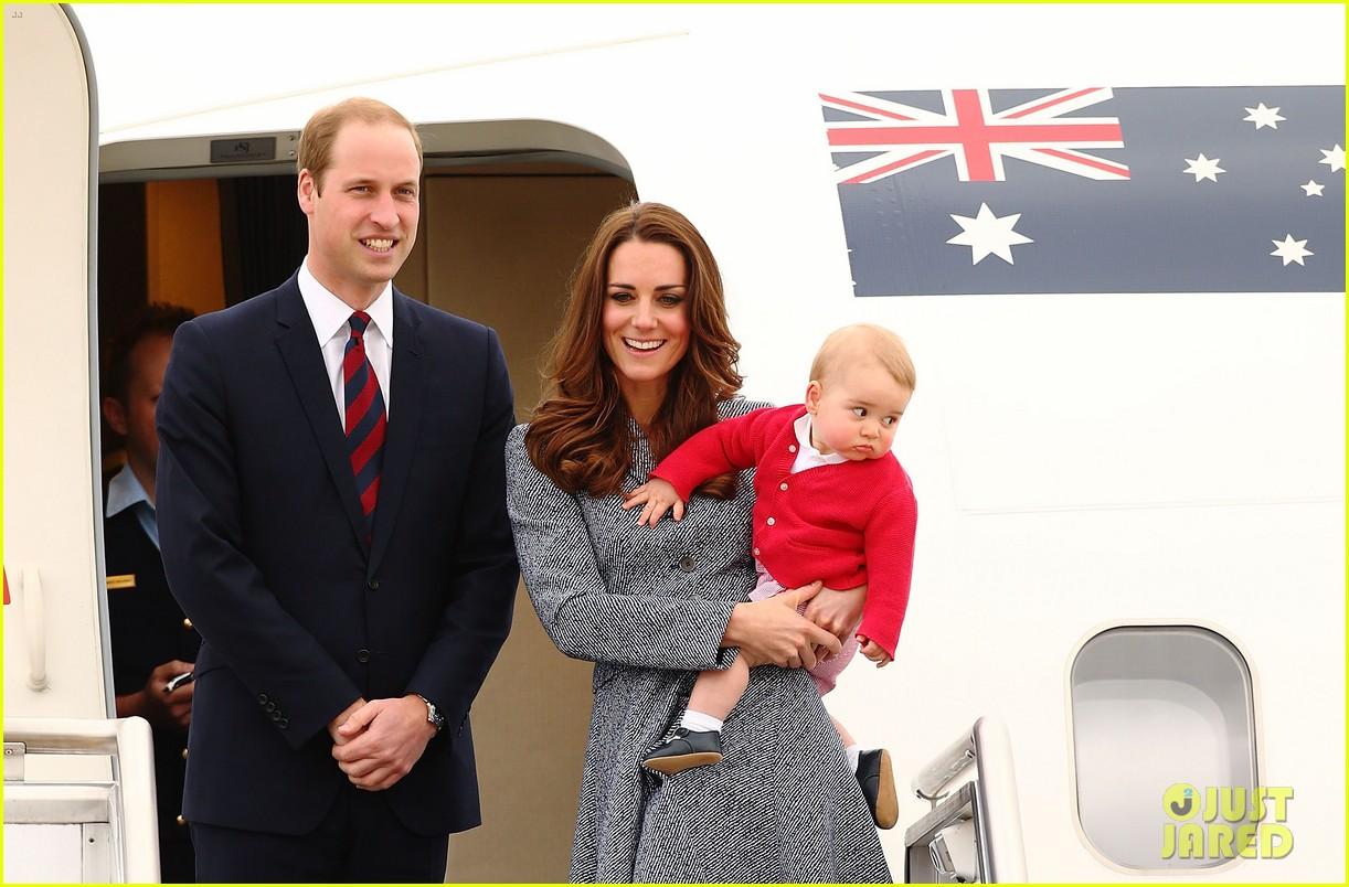 kate middleton prince william prince george say goodbye to australia 333098879