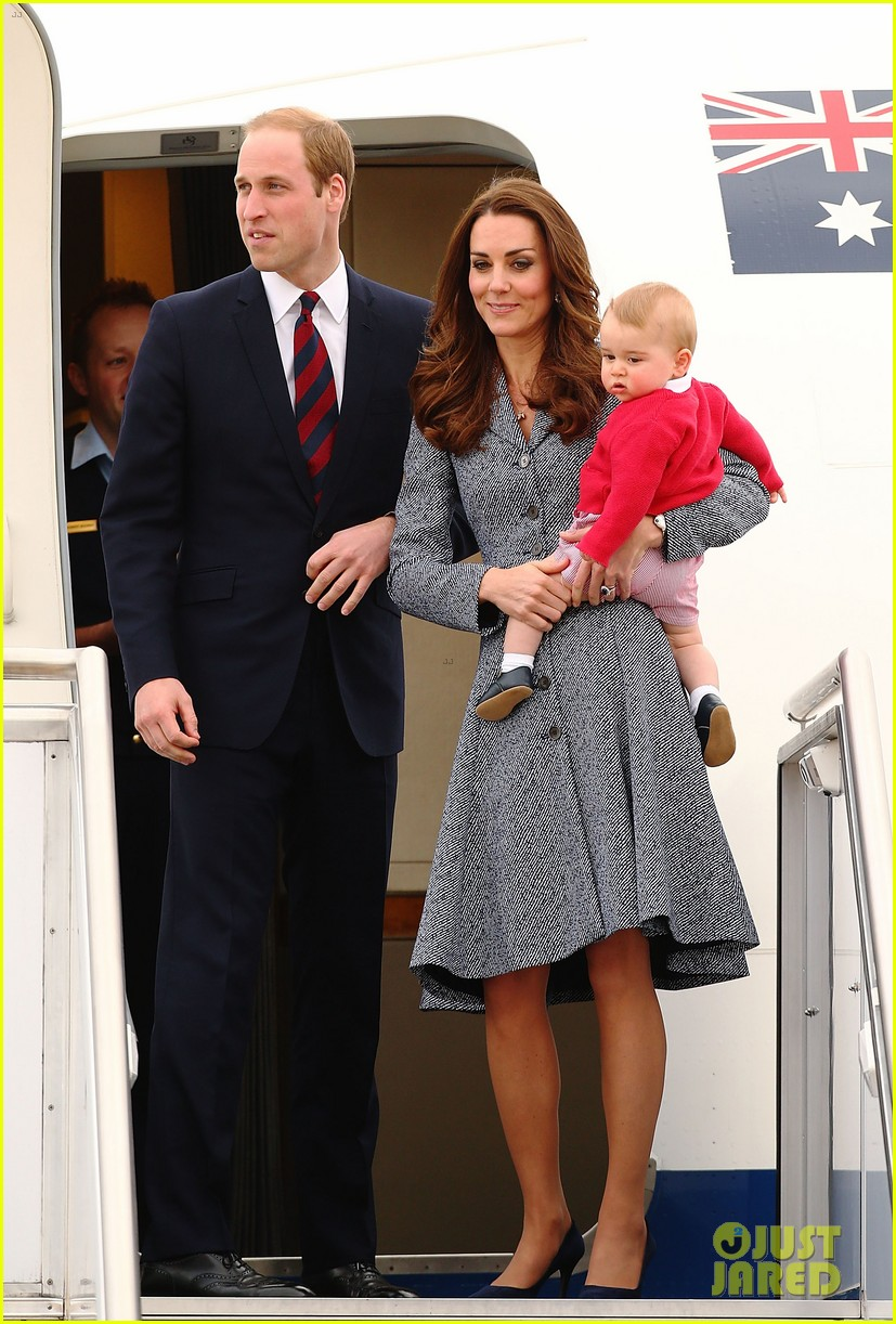 kate middleton prince william prince george say goodbye to australia 393098885