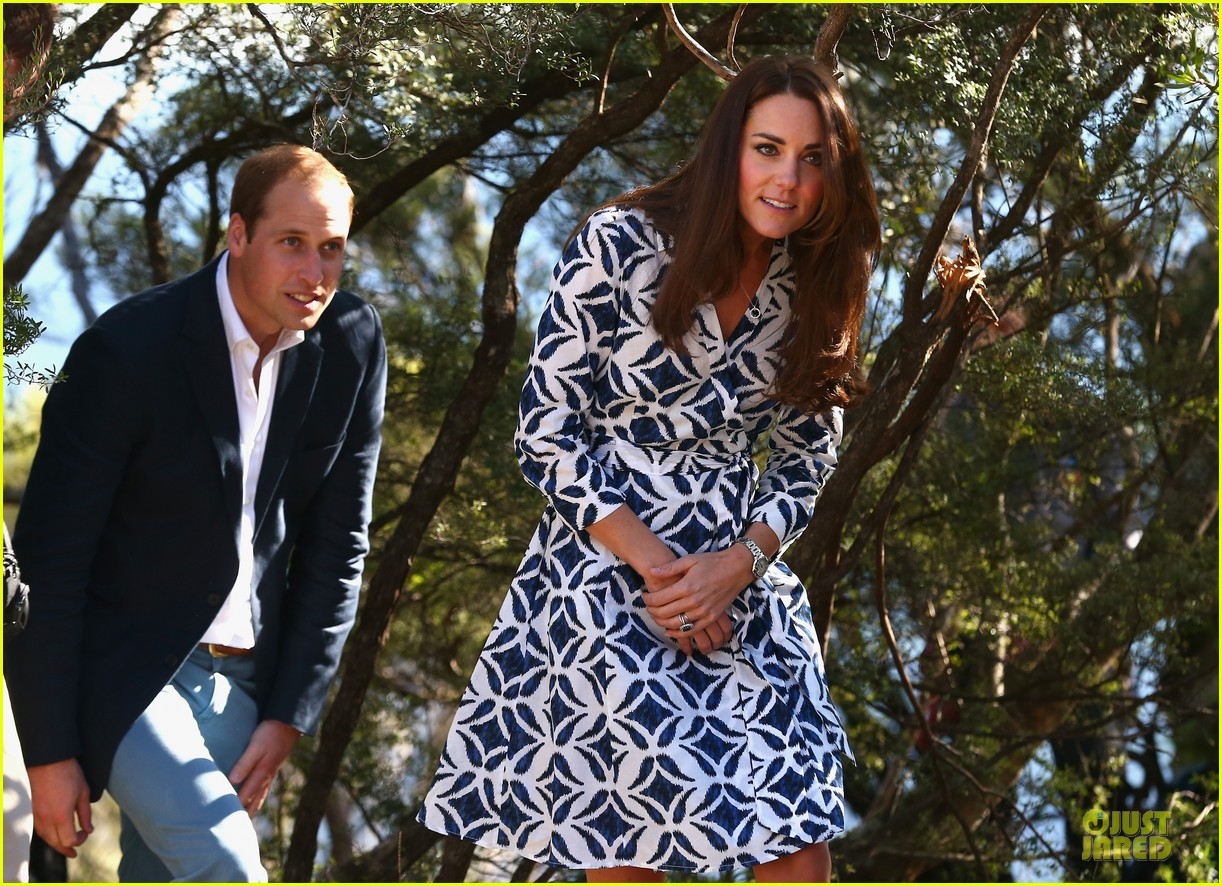 kate middleton prince william plant tree in australia 113093690