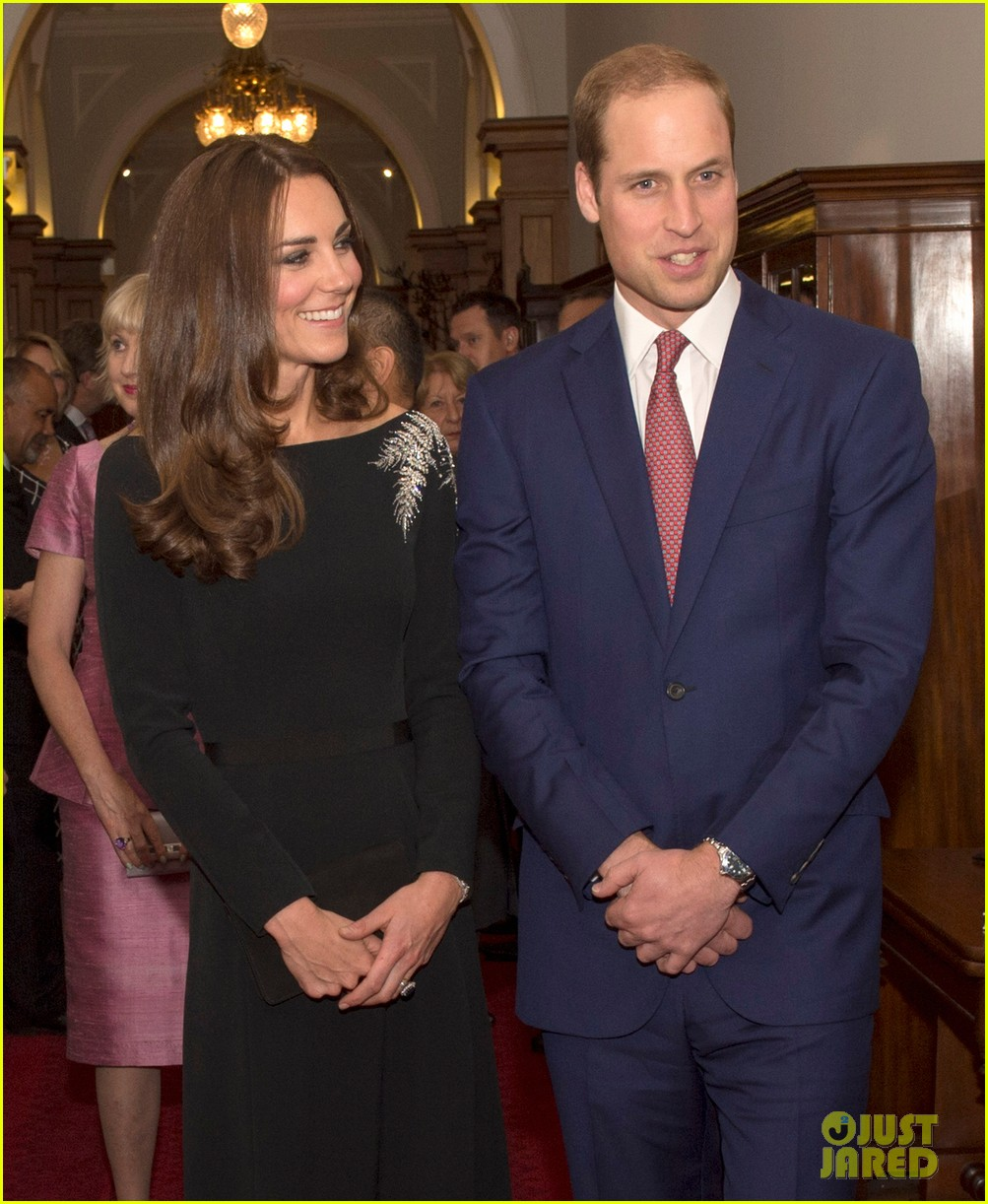 kate middleton prince william send thanks to new zealand for welcoming them bonny lad 153088310
