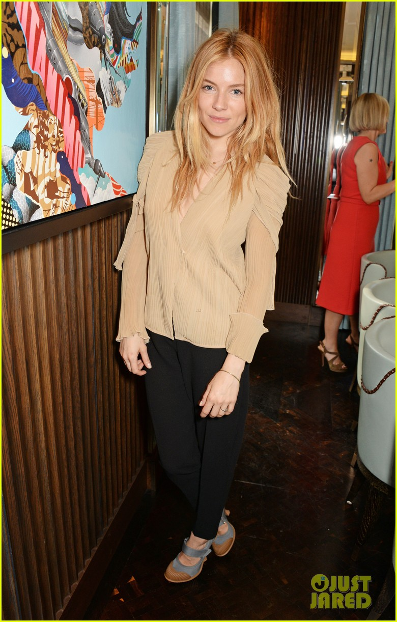 sienna miller jewelry launch party 013084551