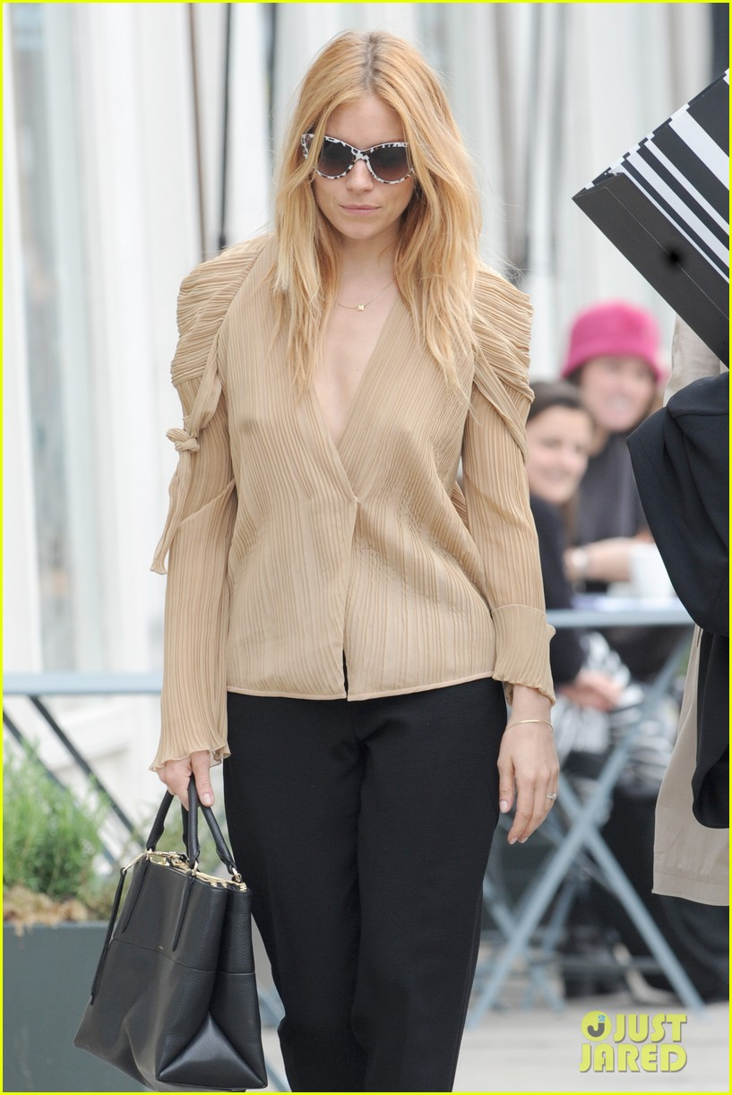 sienna miller jewelry launch party 153084565
