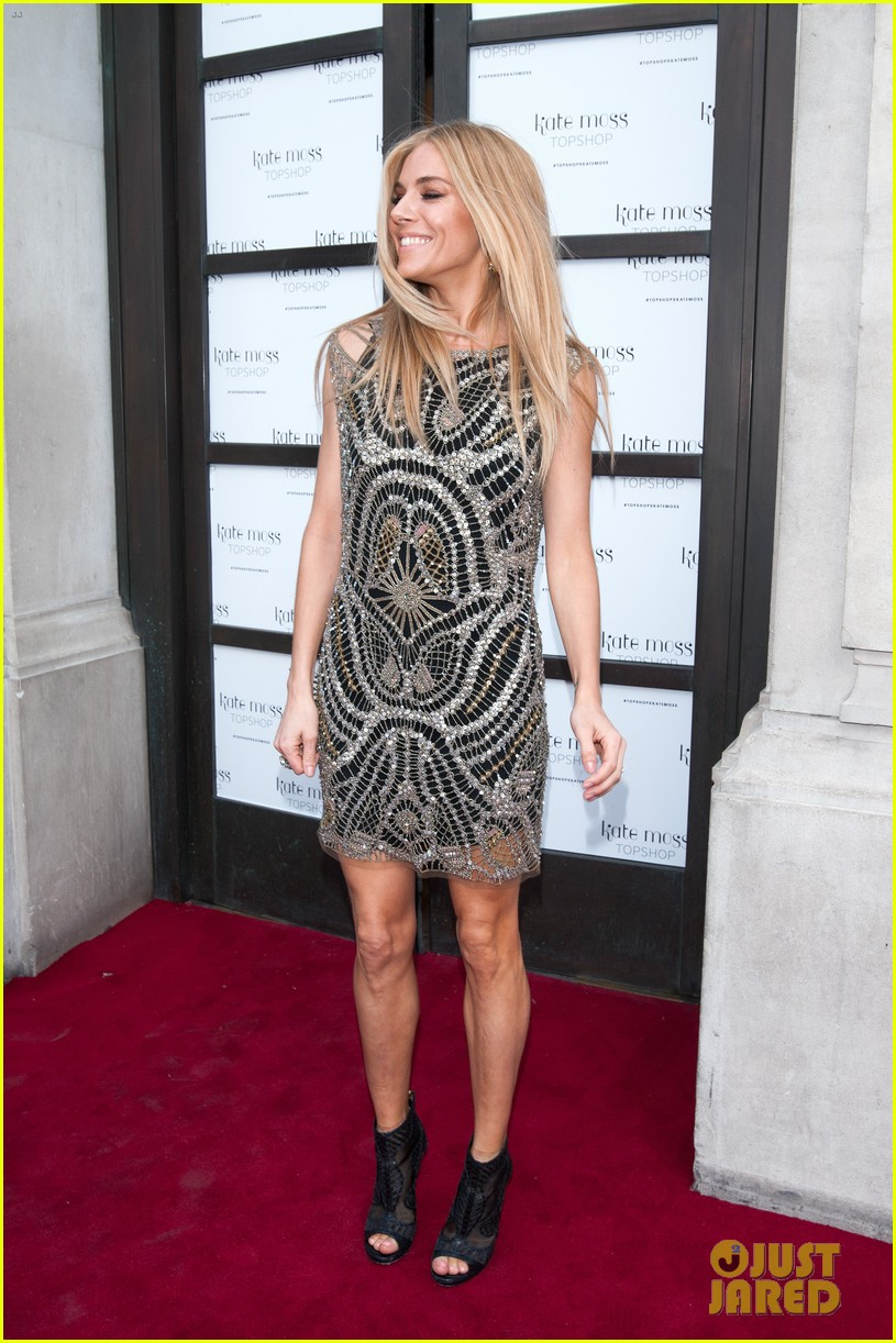 sienna miller celebrates kate moss with hot british models 163101988