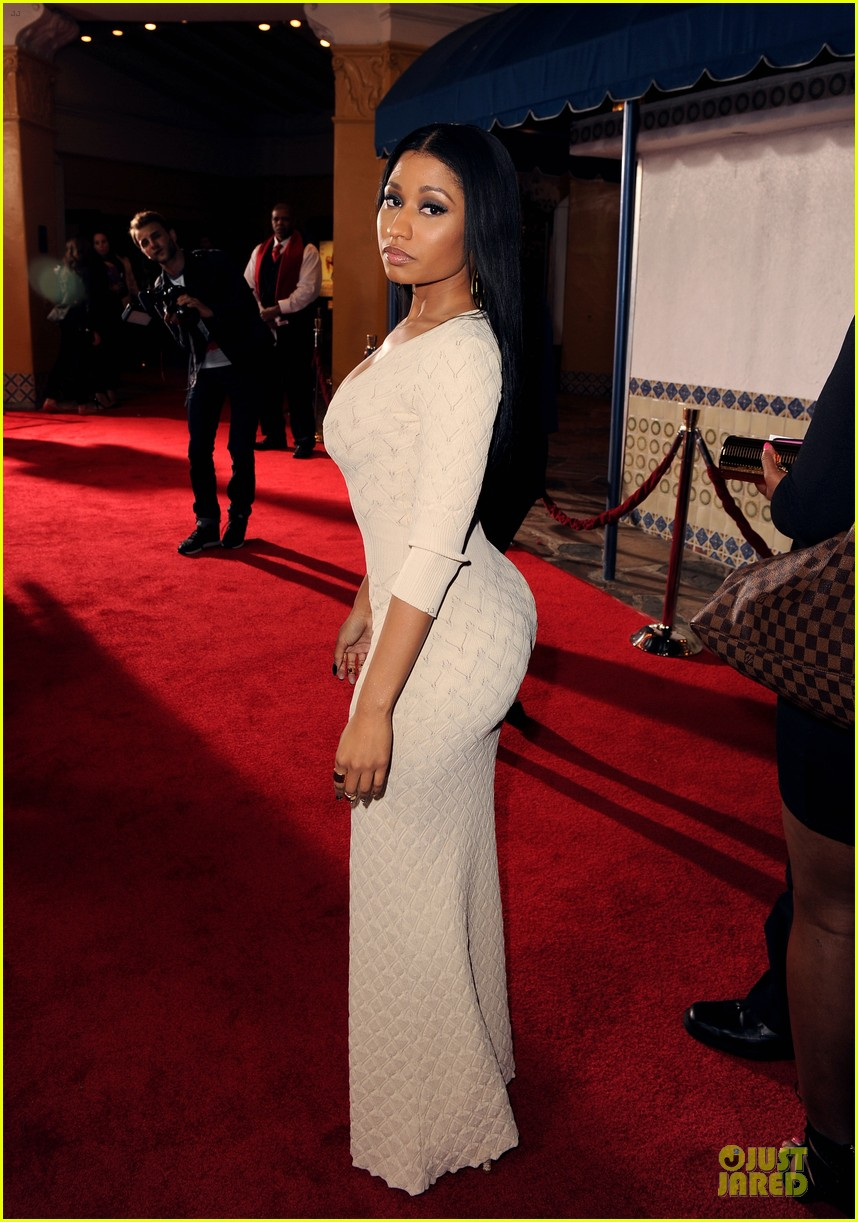 nicky minaj bootylicious at the other woman premiere 013096535