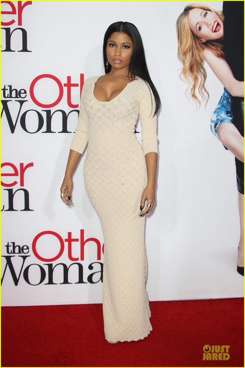 nicky minaj bootylicious at the other woman premiere 153096549