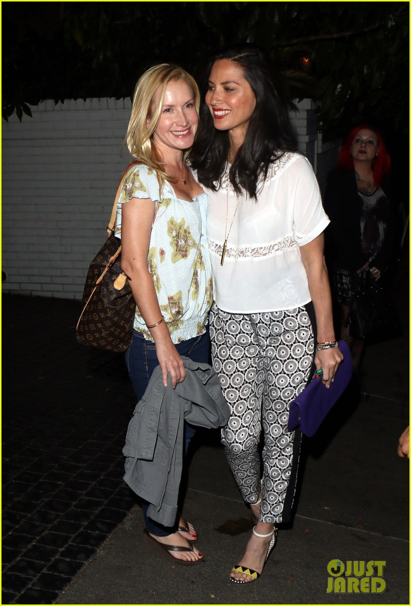 olivia munn girls night out at chateau marmont with angela kinsey 033088338